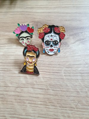 Pins Set Frida Kahlo
