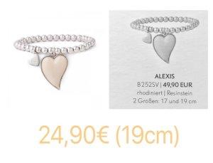 Pippa&Jean Alexis Armband 19cm