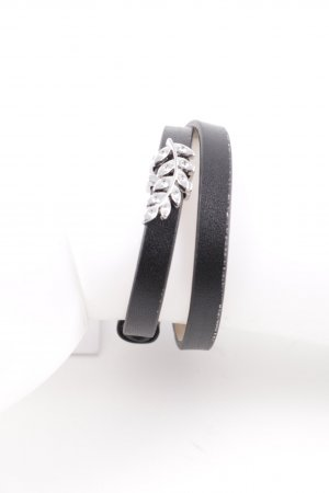Pippa & Jean Leather Bracelet black elegant
