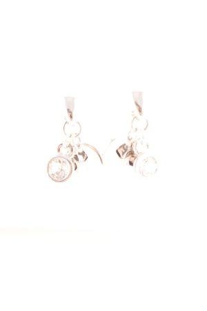 Pippa & Jean Bungeloorbellen zilver klassieke stijl