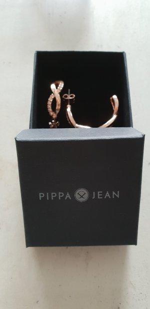 Pippa Jean Ohrringe Creolen Rosegold NEU