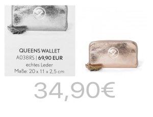Pippa&Jean Queens Wallet Geldbörse rosé