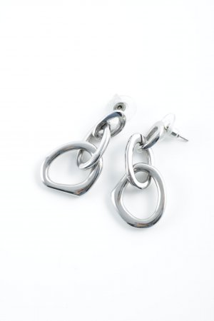 Pippa & Jean Silver Earrings silver-colored elegant