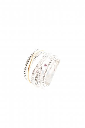 Pippa & Jean Silver Ring silver-colored-bronze-colored extravagant style