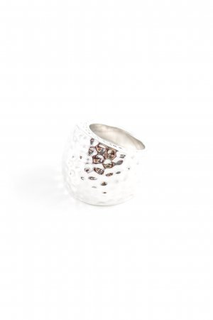 Pippa & Jean Silver Ring silver-colored extravagant style