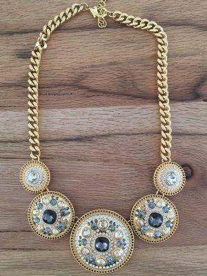 Pippa&Jean Sun Queen Statementkette Gold