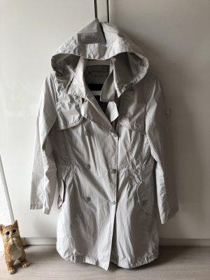 Piquadro Hooded Coat light grey