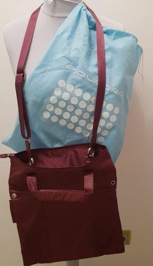 Piquadro Reisetasche Businesstasche Leder bordeaux Neu ohne Etikett