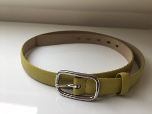 abro Leather Belt meadow green
