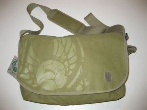 College Bag olive green-khaki mixture fibre