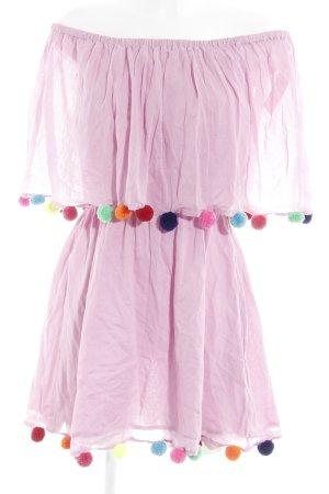 Pitusa Off the shoulder jurk veelkleurig extravagante stijl