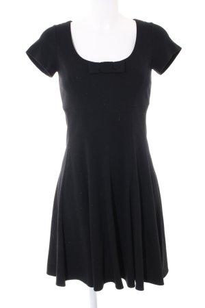 Piú & Piú A-Linien Kleid schwarz Casual-Look