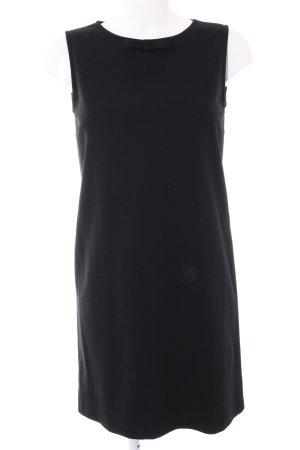 Piú & Piú A-Linien Kleid schwarz Business-Look