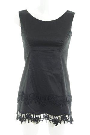 Piú & Piú Abendkleid schwarz Elegant