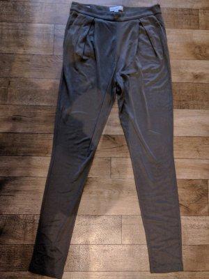 Piú & Piú Stretch Trousers grey brown-grey rayon