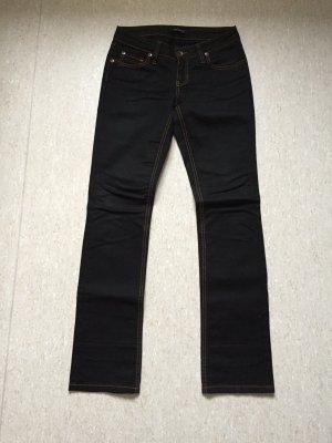 Piu Piu Jeans mit hellen Nähten, Gr. 27 (dt. Gr. 34 - 36)