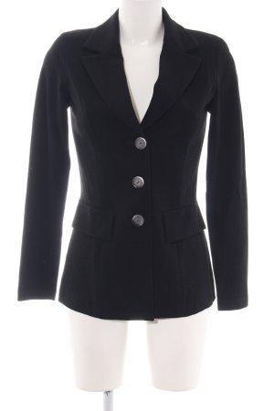 Piú & Piú Jersey Blazer negro estilo «business»