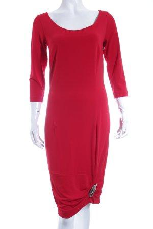 Piú & Piú Jerseykleid rot Elegant