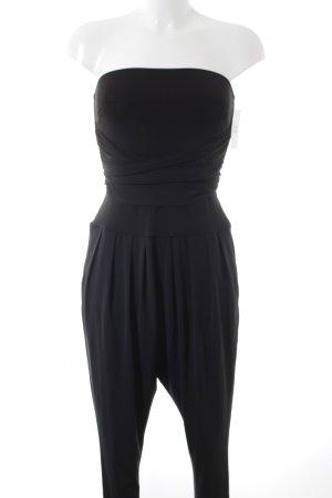 Piú & Piú Jumpsuit schwarz Elegant