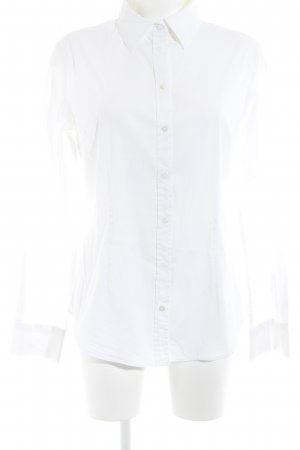 Piú & Piú Long Sleeve Shirt white business style