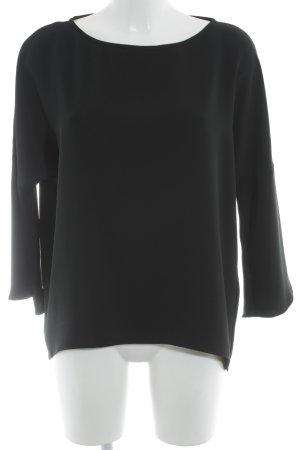 Piú & Piú Oversized Shirt schwarz Elegant