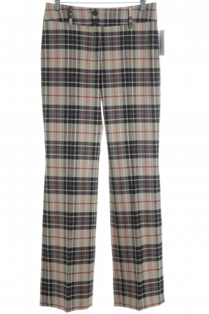 Piú & Piú Jersey Pants check pattern Brit look