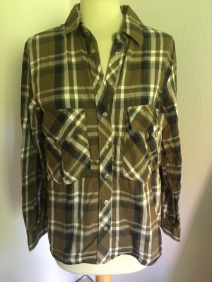 Plaid Shirt Casual ZARA