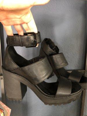 H&M Divided Sandales à plateforme noir