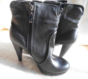 Botas negro Imitación de cuero