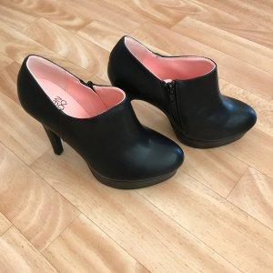 Plateau ankle boots ungetragen