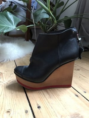 Bershka Bottines à plateforme multicolore