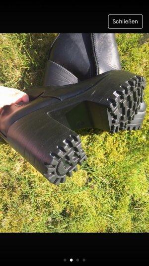 Chelsea Boot noir faux cuir