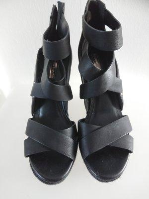 BCBGeneration Platform High-Heeled Sandal black