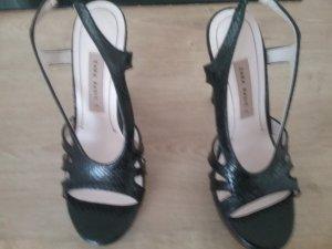 Zara Basic High Heel Sandal black