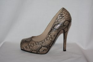 Plateau High Heels 36 Snakeprint