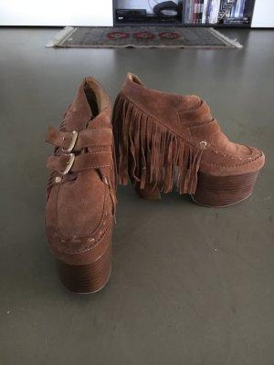 Plateau High Heels
