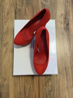 Plateau High Heels Pumps Grösse 36 * NEU* Rot