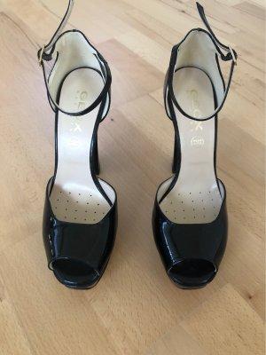 Plateau high heels sandalen