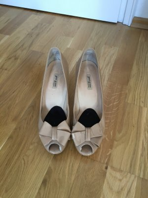 Paul Green Platform Pumps sand brown