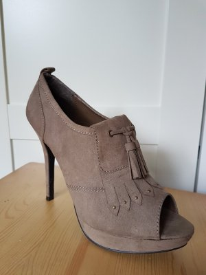 Primark Platform Pumps grey brown-beige