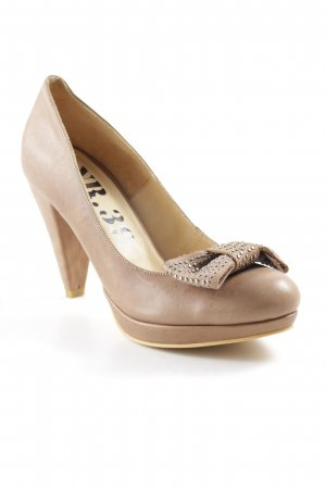 Plateau-Pumps camel Casual-Look