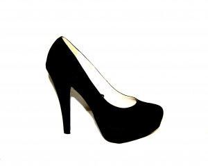 Plateau Pumps - High Heels in schwarz von Atmosphere Gr. 40