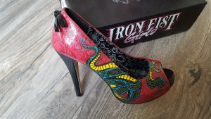 Iron fist Escarpin à plateforme multicolore