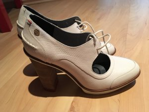Tommy Hilfiger Lace-up Pumps natural white-white