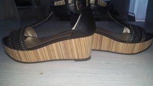 Bullboxer Wedge Sandals black