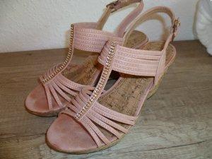Plateau Sandale kaum getragen