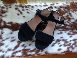 di Marzio High-Heeled Sandals black suede