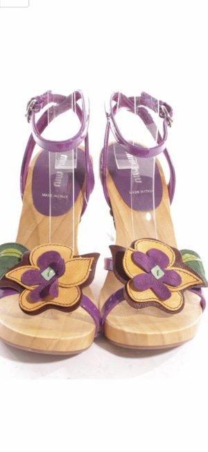 Platform Sandals beige-nude