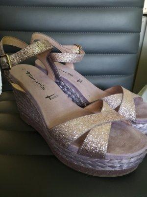 Tamaris Platform Sandals lilac
