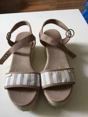 Esprit High-Heeled Sandals white-beige